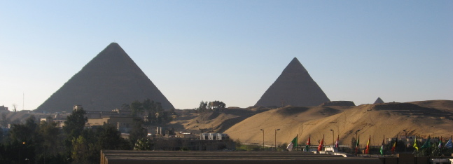 Pyramids–day view